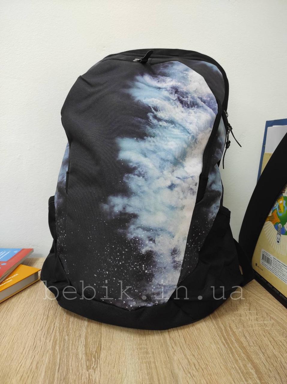 Городской рюкзак для подростков с абстрактным принтом