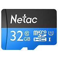 Карта памяти Netac microSDHC 32GB Class 10 UHS-I U1 (NT02P500STN-032G-S)