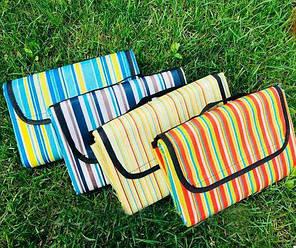 Раскладной коврик для пикника 150-150см Разноцветный, фото 2