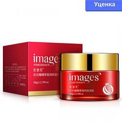 Уцінка! Омолоджуючий крем для обличчя Images з екстрактом червоного граната 50 г