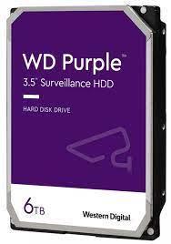 Жорсткий диск 6TB Western Digital WD62PURZ для відеоспостереження