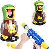 Игрушечный пистолет с голодной уткой для стрельбы Hit Me Duck   ігри для дітей стрілянина кульки (NV)