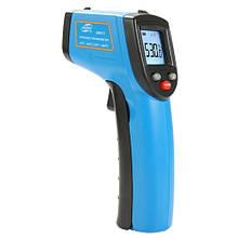 Бесконтактный инфракрасный термометр (пирометр)  -50-530°C, 12:1, EMS=0,1-1  BENETECH GM531