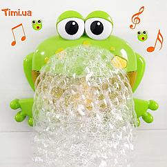 """Игрушка для ванной """"Музыкальный BUBBLE FROG"""""""