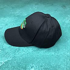 Кепка Бейсболка Чоловіча Жіноча City-A з Сумною Жабою Жабою Пепе Pepe the Frog Чорна, фото 2