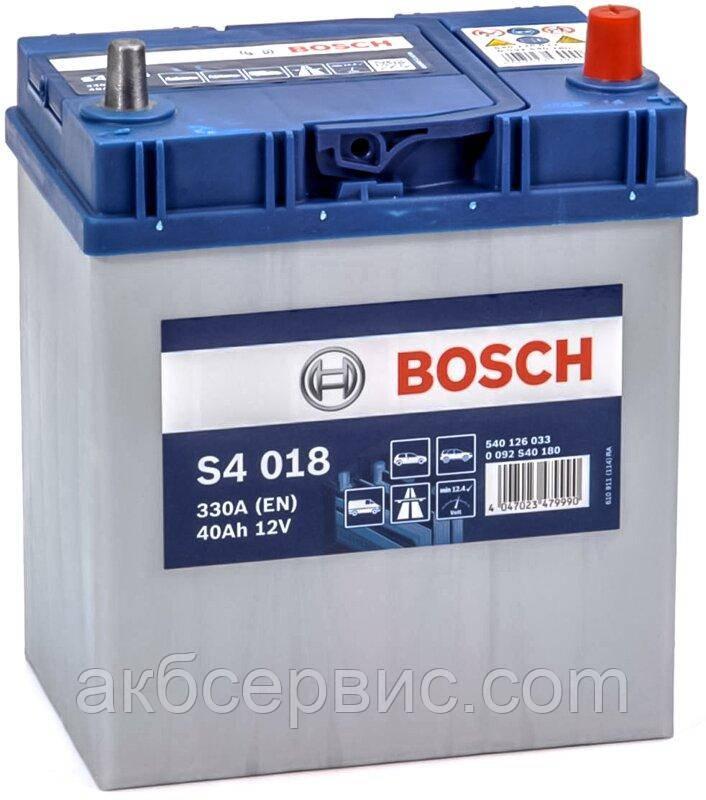 Аккумулятор автомобильный Bosch 6СТ-40 S4 Silver (S40 180)