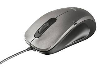 Мишка USB ергономічна Trust Ivero Compact USB Gray