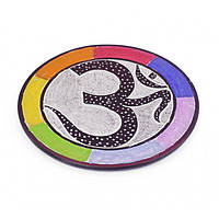 Подставка для аромапалочек из камня круглая, подставка для палочек благовония