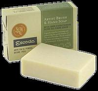 Крем-мыло Escoda по уходу за художественными кистями, брусок, 100 г