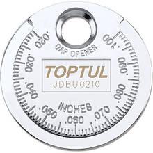 "Приспособление типа ""монета"" для проверки зазора между елетрод. cвечи  TOPTUL JDBU0210"