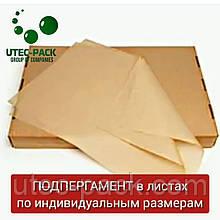 Порезка подпергамента