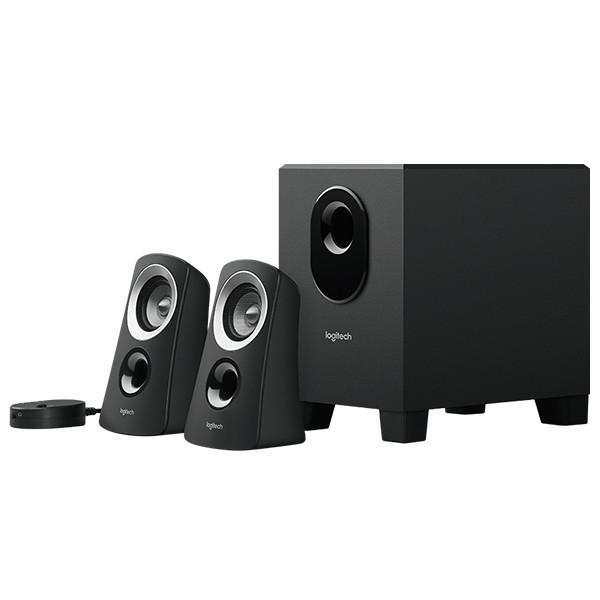 Акустические колонки 2.1 Logitech Speaker System Z313 Black