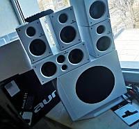 Активная акустическая система 5.1 домашний кинотеатр сабвуфер Auna Areal 525
