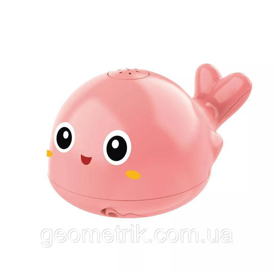 Плавальна іграшка для ванної Дельфін-спрей (розпилювач) рожевий Water Spray Dolphins pink