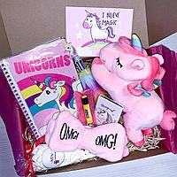 """Подарочный бокс для девочки Wow Boxes """"Unicorn Box №12"""""""