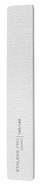 Пилка широка пряма мінеральна для нігтів Staleks SMART 100 / 180грит (5шт) набір