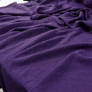 Ткань американский креп фиолетовый