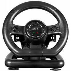 Кермо USB SpeedLink SPEEDLINK Black Bolt Racing Wheel PC (SL-650300-BK)