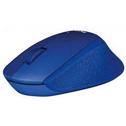 Мишка бездротова Logitech M330 Silent Plus Blue (910-004910)