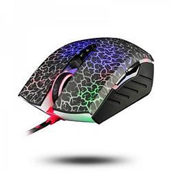 Мишка USB класична A4Tech A70A Bloody Crackle Black USB