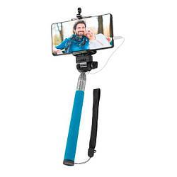 Селфи Палиця з кабелем Defender Selfie Master SM-02 Blue