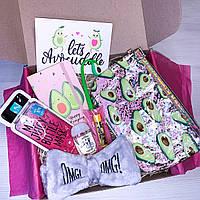 "Подарок для девочки девушки от WOW BOXES ""Авокадо бокс #2"""