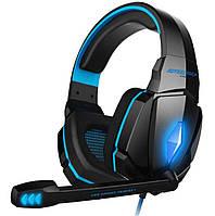 Наушники игровые KOTION EACH LED G4000, черно-синие