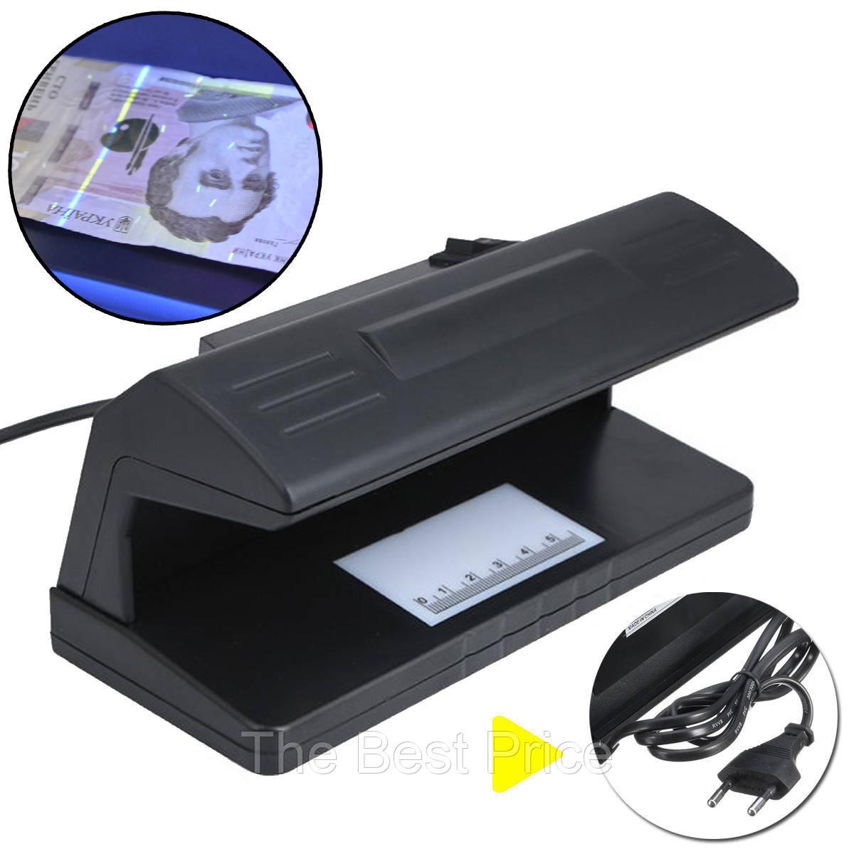 Ультрафиолетовый детектор валют UKC 318 от сети 220В (5095)
