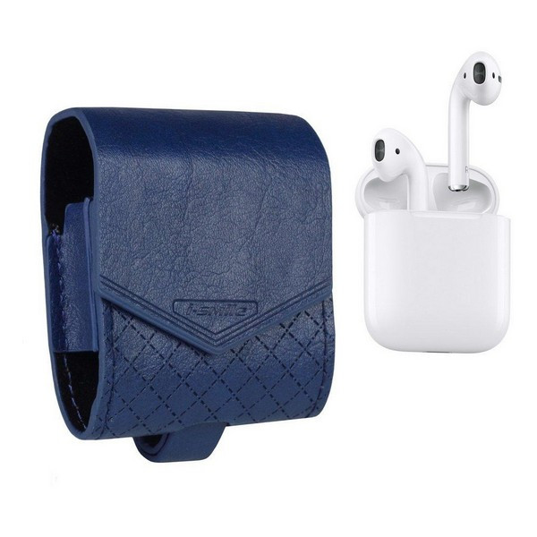 Чехол для Apple AirPods i-Smile Сase Baroque Blue IPH1436 (702344)