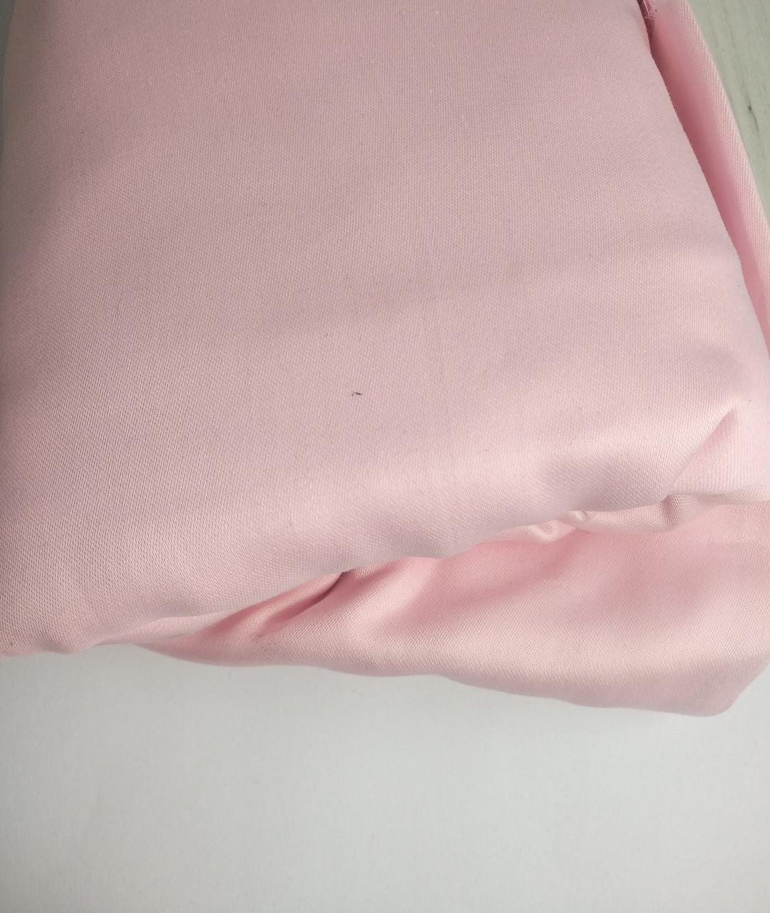 Сатин світло рожевий (Пакистан) 240*225см