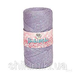 Трикотажный плоский шнур Ribbon Glossy, цвет Лавандовый