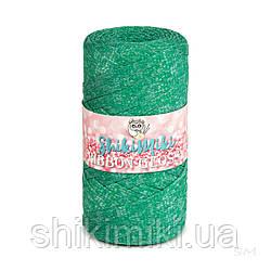 Трикотажный плоский шнур Ribbon Glossy, цвет Трава