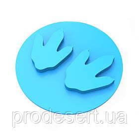 Штамп для пряников След динозавра 2 6*6 см (3D)