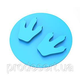 Штамп для пряников След динозавра 5 6*6 см (3D)