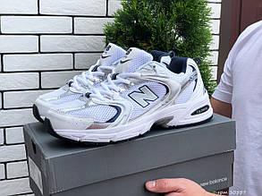 Мужские кроссовки New Balance Abzorb 530, белые с золотым