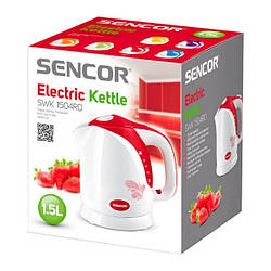 Електрочайник Sencor SWK 1504RD