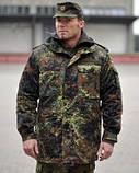 Мужская куртка- парка Бундесвер флектарн. Новая. Оригинал, фото 2