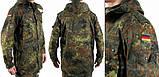 Мужская куртка- парка Бундесвер флектарн. Новая. Оригинал, фото 3