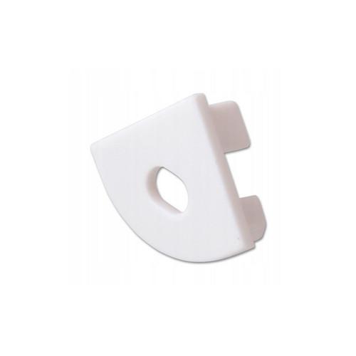 Заглушки пластиковые с отверстием для профиля XH-606, 1шт.