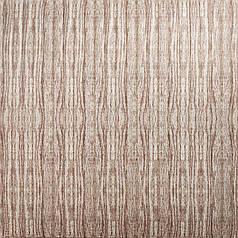 Самоклеющаяся декоративная 3D панель бамбук капучино 700x700x8.5мм