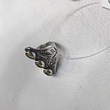 Цитрин 18,3 розмір кільце з цитрином кільце з каменем жовтий цитрин в сріблі Індія, фото 7