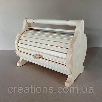 Хлібниця дерев'яна 36х26х17 см.