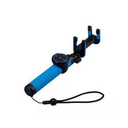 Монопод для смартфона Momax Selfie Hero Bluetooth Selfie Pod 100 см Blue/Black (KMS7D)