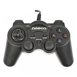 Геймпад USB Omega Interceptor PC USB (OGP85) Black