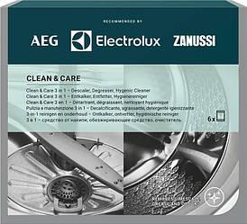 Набір для чищення пральних і посудомийних машин Electrolux 6 саші x 50 гр