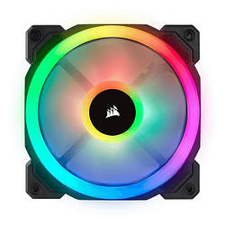 Корпусний вентилятор Corsair LL120 Dual Light Loop RGB LED (CO-9050071-WW)