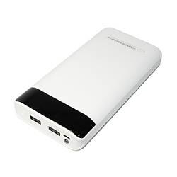 Додатковий акумулятор 17400 mAh Esperanza Photon White (EMP120W)
