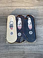 Мужские следы стрейчевые Sanbella ассорти однотонные хлопок 40-44 12 шт в уп, фото 2