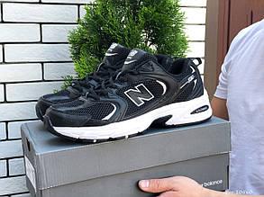 Мужские кроссовки New Balance Abzorb 530, черные с белым