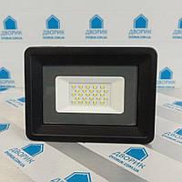 Прожектор світлодіодний Led 30w 6000K IP65 2820Лм чорний AVT4-IC, фото 1